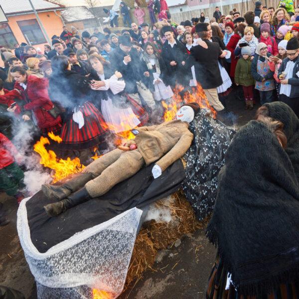 Înmormântarea Farșangului