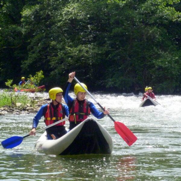 Rafting ușor pe Crișul Repede