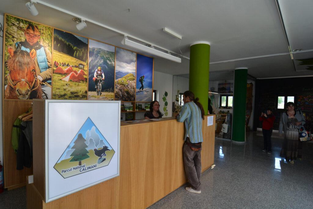 Centrul de vizitare al Parcului Național Călimani