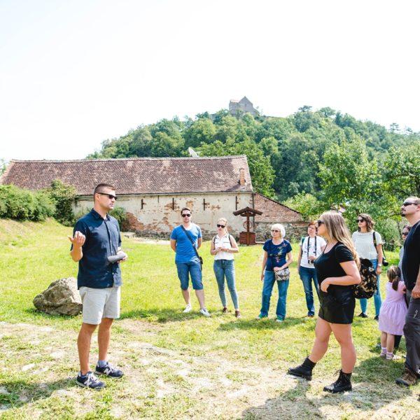 tur ghidat în jurul satului Cisnadioara Cristian Cismaru