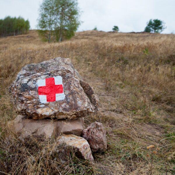 cruce roșie, marcaj turistic