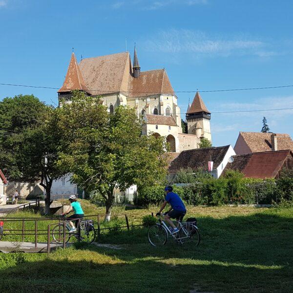 Tură autoghidată cu bicicleta prin satele săsești pe bicicletă